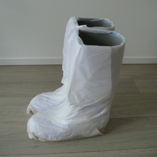 未使用白長靴 耐油 サイズ25.5センチ
