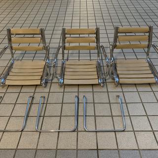 タカラベルモント セット椅子 上部のみ3台