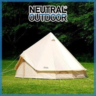 5~8人用 キャンプテント NEUTRAL OUTDOOR 製