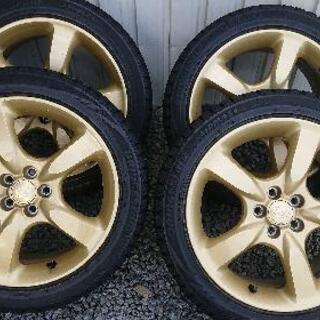 スバル純正ゴールド スタッドレスタイヤ
