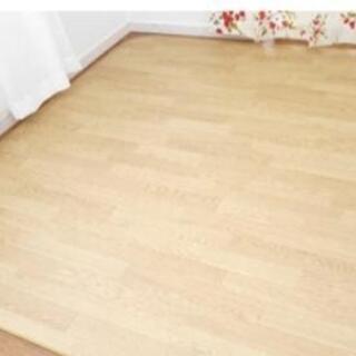 《カーペット 木彫 ウッド 電気カーペット対応 防水 2畳用 ブ...