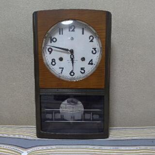 振り子時計 アイチの時計 No.2518-A