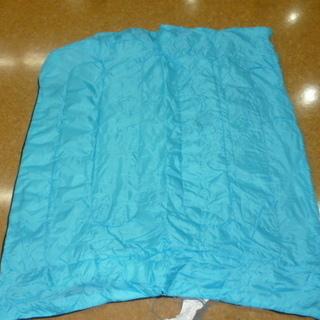 子ども用 寝袋 青色1