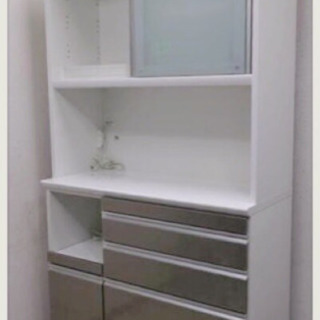 【引取限定】美品 松田家具 食器棚 キッチンボード