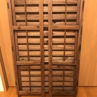 木製折りたたみラック