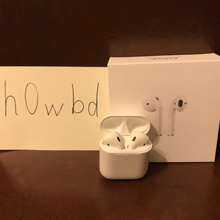 airpods 第2世代!