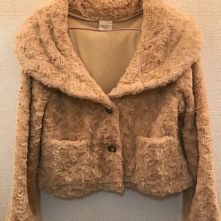 大きな襟のコート 160㎝