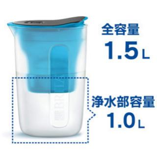【美品】本体+カートリッジ付き BRITA 浄水水筒