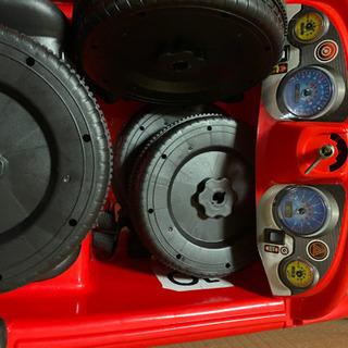 子ども用電動自動車⭐︎バッテリー無し レトロ
