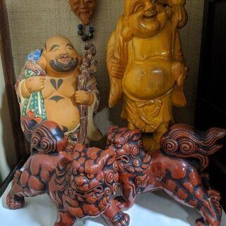 恵比寿 狛犬 置物