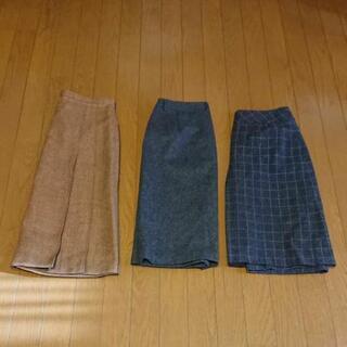 冬物スカート 3点 Lサイズ(11号)