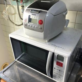 【激安】炊飯器・冷蔵庫・電子レンジ・掃除機セット