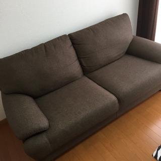 ニトリの布ソファー