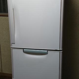 冷蔵庫384リットル、三菱、ファミリーサイズ、現場向け!