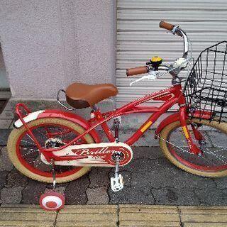 ブリエアンファン 18吋キッズバイク(レッド)