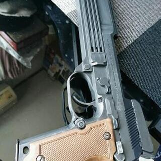 MGC M93R AP固定スライドガスガン オリジナルブラスト塗...