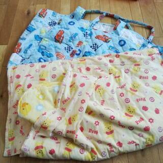 お昼寝布団、シーツ、お布団バッグセット