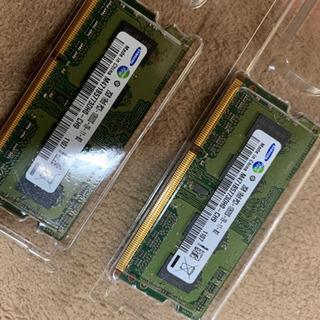 サムスン pc3l-10600 2gb 2枚 ×2 セット