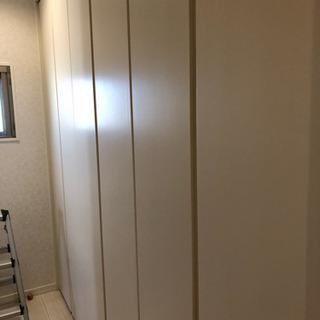 建具 3年前新築時のクローゼットの扉