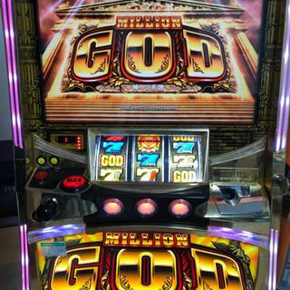 パチスロ ミリオンゴッド 神々の系譜 コイン不要機付
