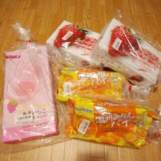 フルーツお菓子5つセット