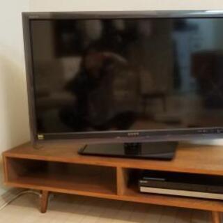 液晶TV40型・Blu-ray・DVDレコーダーセット