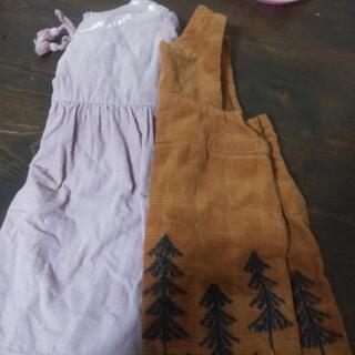80サイズ女の子冬服まとめ売り