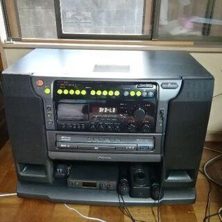 ア レーザーカラオケ DVK-900 カセット ホームカラオケ ...