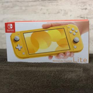 【新品未使用】Nintendo Switch Lite イエロー