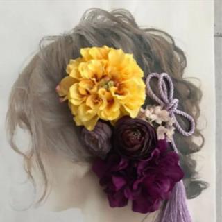 髪飾り 成人式 結婚式