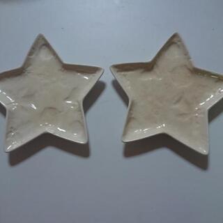 星形のプレート(ケーキ皿位の大きさ)