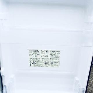 487番 SHARP✨ ノンフロン冷凍冷蔵庫❄️  SJ-BK14Y-B‼️  - 家電