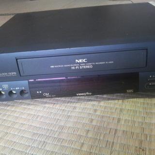 ジャンク ビデオデッキ NEC