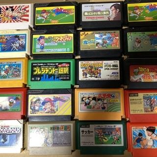 【動作確認済】値下げしました ファミコンソフト24本&任天堂64...