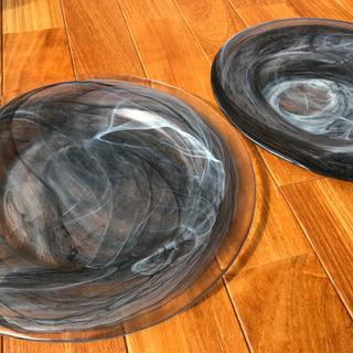 ガラスのお皿セット 中古②