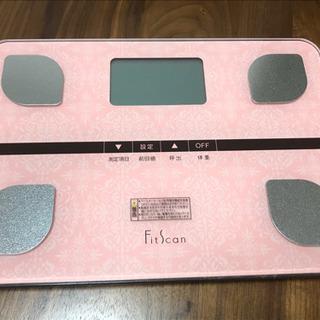 【取引中:ほぼ未使用】タニタ  体重体組成計(ピンク)  TAN...