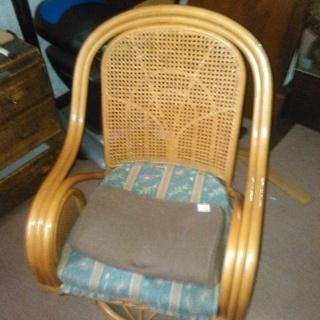 イス 藤椅子 アンティーク