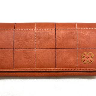 【未使用】大容量長財布 牛革 日本製