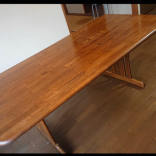 🧸ドイツ製テーブル(190×90×70)お買得です❣️
