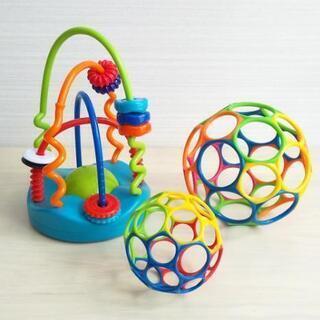 【中古】オーボール 玩具 3点