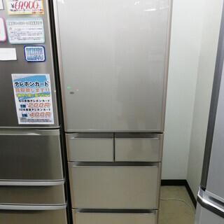 【6ヶ月保証付】定価15万円 401L 真空チルド 冷蔵庫 HI...