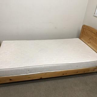 パイン材 シングルベッド