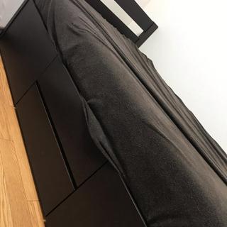 ベッド 木枠のみ(ニトリ)