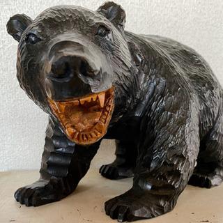 北海道 旭川 木彫り 熊
