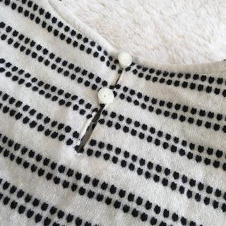 銀座マギー   秋冬の半袖トップス    白黒