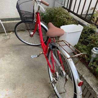 お話中です。自転車 26インチ