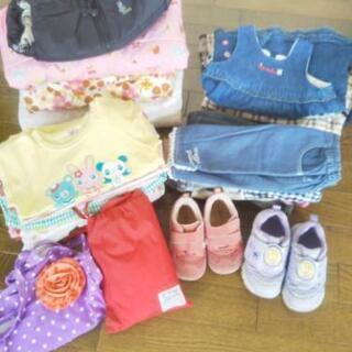 【商談中】ブランド多数 女の子服サイズ90 計34点