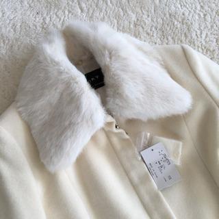 激可愛い‼️新品 VICKY 白ファーコート