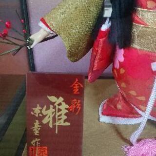日本人形 雛祭りにも 3