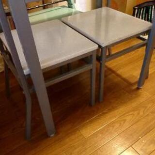 【白】二人用テーブル